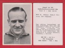 West Germany 1954 World Cup Herrmann FSV Frankfurt 61